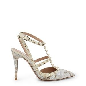 Valentino Studded Stiletto Pumps Heels Shoes